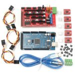 RAMPS 1.4 Mega2560 5xA4988 Controller 3D Printer Kit For Arduino Reprap