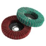 100mm 120/240 Grit Nylon Fiber Wheel Abrasive Polishing Buffing Disc