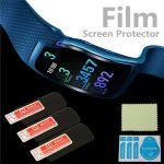 3Pcs Anti Scratch Frosted Screen Protector Films Shield For Samsung Gear Fit 2