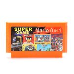 8 in 1 8 Bit Game Cartridge Mario Angry Birds for NES Nintendo
