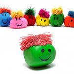 1PC Funny Novelty Gift Creative Vent Human Face Ball Anti Stress Toy Soft Funny Bouncing Squeeze