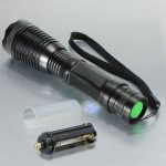 MECO XM-L T6 1800LM 12W Zoomable LED Flashlight Torch