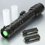 MECO XM-L T6 3600LM Zoomable LED Flashlight 2×18650