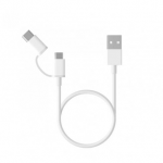 Original Xiaomi 100CM 2 in 1 Type-C and Micro USB Cable for Mobile Phone