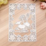 Lotus Metal Cutting Stencil Scrapbook Card Album Paper Embossing DIY Craft Decoration