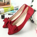 Women Chic Flat Loafers Lazy Driving Shoes Slip On Bowknot Shoes