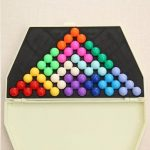 Wisdom Pyramid Board Game Wisdom Bead Board Game Intelligence Magic Bead Educational Toys