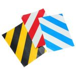 5/10/15/20CM x 30CM Safety Security Caution Reflective Tape Warning Tape Sticker Self Adhesive Tape