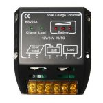 12V/24V 20A Solar Panel Charging Controller Switch Battery Regulator Protector