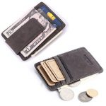 Men Genuine Leather Credit Card Case Money ID Pocket Holder