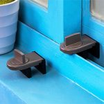 Kids Safety Window Door Sliding Lock Children Security Limite Catch Restrictor