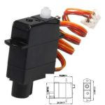 2g Plastic Gear Micro Digital Servo For RC Models