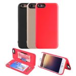 Protective Hidden Wallet Case With Card Slot Multifunctional Case Cover For Apple iPhone 6 6s 4.7 Inches