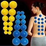 12pcs Mini Silicone Chinese Traditional Cupping Cups