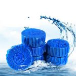 Honana HN-021 4pcs Automatic Toilet Bowl Cleaner Blue Bubbles Deodorant Clean Scent