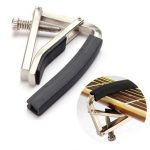 Trigger Quick Change Key Clamp Capo For Acoustic Electric Classic Guitar Silver