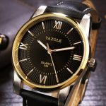 YAZOLE 348 Luxury Business Men Wrist Watch Fashion Leather Male Quartz Watch