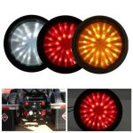 30 LED Reverse Tail Rear Warning Lamp Light For Trailer Truck Lorry Caravan