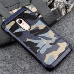 Camouflage Hybrid Hard PC Back TPU Cover Shockproof Case For Xiaomi Redmi Note 4