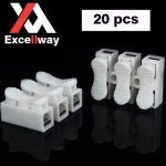 Excellway CH3 Quick Wire Connector Terminal Block Spring Connector