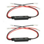 2pcs 12V 10W Flasher Indicator Load Resistor Motorcycle LED Light Flash Blinker