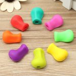 8pcs Pencil Grips Occupational Therapy Handwriting Aid Kids Pen Control Right Silicone Writing