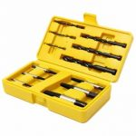 12pcs Damaged Nut Screw Extractor Bolt Stud Remover Tool Set with Drills