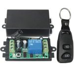 Geekcreit DC 12V 10A Relay 1CH Channel Wireless RF Remote Control Switch Transmitter With Receiver