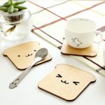 Animal Coaster Wood Drink Holder Tea Coffee Cup Mat Pads Table Decor Tableware