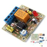 DIY Light Operated Switch Kit Light Control Switch Module Board With Photosensitive DC 5-6V