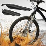 53cm Black Bicycle Mountain Bike Cycling Front and Rear Mud Guard Mudguards Fenders Set