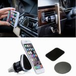 Universal 360 Degree Rotate Magnetic Car Air Vent Holder Stand Support Mount
