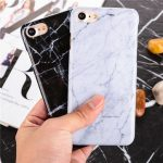 Hard PC Marble Stone Texture Protective Back Case For iPhone 7 4.7 Inch
