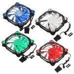 3-Pin/4-Pin 120mm PC Computer Case CPU Cooler Cooling Fan with LED Light DC12V