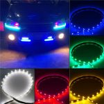 30CM 5050 15 LED Car Motors Truck Flexible Strip Light Waterproof 12V