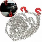 Scale Trailer Rope Chain With Coupler Climbing Hook Crawler Truck 145cm