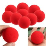 1PCS Close-Up Magic Street Trick Soft Sponge Ball Props Clown Nose