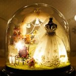 CuteRoom B-022 Love Forever DIY Dollhouse Miniature Kit Collection Gift With Light