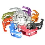Motorcycle Scooter CNC Aluminum Helmet Bag Holder Hanger Hook Eagle Claw