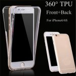 Soft TPU Transparent 360 Degree Full Body Protection Cover Case for iPhone 6/6s 4.7 Inch