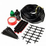 15m 50ft Gardening Plant Micro Drip Irrigation System Patio Atomization Micro Sprinkler Cooling Kit