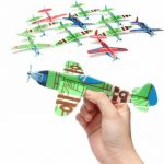 10Pcs Flying Glider Planes Gift Birthday Christmas Party Bag Filler