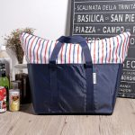 Insulated Lunch Bag Zipper Travel Bag Fresh Package Large Car Package Picnic Food Organization