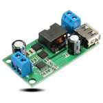 DC-DC 12V/24V To 5V/5A Step-down Buck Regulated Power Converter Module