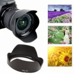Replacement EW-73C Bayonet Mount Lens Hood Cap For Canon EF-S 10-18mm F/4.5-5.6