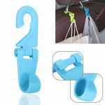 Portable Car Seat Hook Coat Purse Shopping Bag Organizer Holder Plastic Hanger
