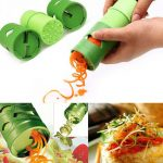 Honana Multi-function Vegetable Fruit Cucumber Turning Cutter Slicer Fruit Vegetable Device