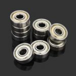 10pcs 6x19x6mm Steel Sealed Shielded Deep Groove Ball Bearings 626zz