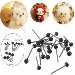 150Pairs 2 3 4mm Children Kids DIY Glass Eyes Needle Felting Bear Teddy Dolls Puppet Animals Handcrafts Toys
