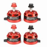 4X Racerstar Racing Edition 2205S BR2205S 2600KV 2-4S Brushless Motor For 210 QAV250 280 FPV Frame